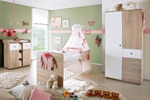 Babyzimmer-WIKI-1--3tlg-eicheW