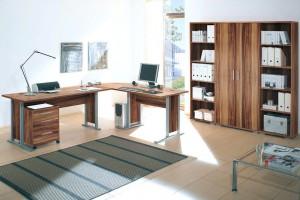 Arbeitszimmer-Broeinrichtung-Brombel-Bro-komplett-OFFICE-LINE-in-Walnuss-110854964383